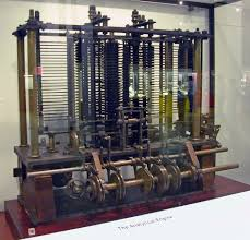 Charles Babbage's analytical engine.